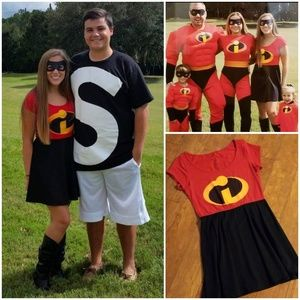 Costume Incredibles Dress Made in USA Halloween